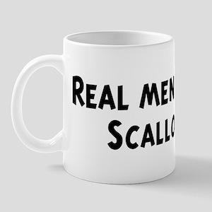 Men eat Scallop Mug