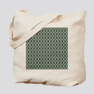 Rectangle Links KD W Dk Loden Tote Bag