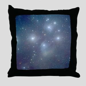 Cosmic Pleiades Throw Pillow