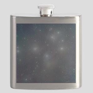 Cosmic Pleiades Flask