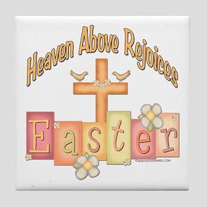 Easter Religion Tile Coaster