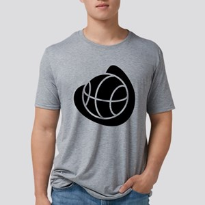 j0325764_BLACK Mens Tri-blend T-Shirt