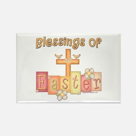 Easter Religion Blessings Rectangle Magnet