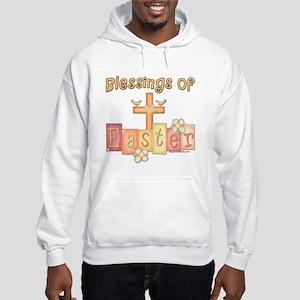 Easter Religion Blessings Hooded Sweatshirt
