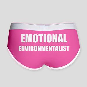 EMOTIONAL ENVIRONMENTALIST Women's Boy Brief