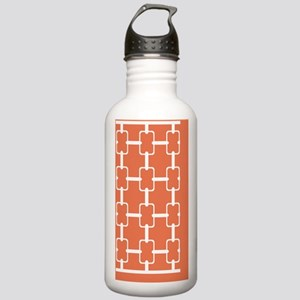 Rectangle Links 3x5 W  Stainless Water Bottle 1.0L