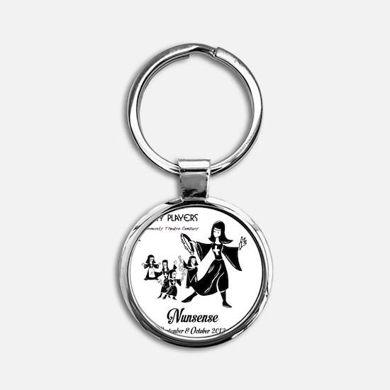 NunMisc Round Keychain