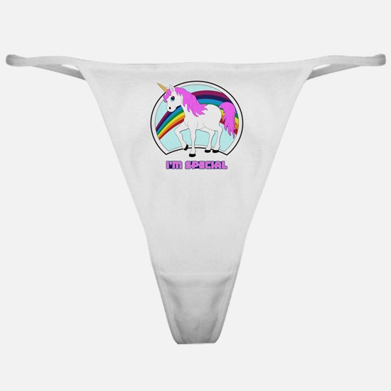 Im Special Funny Unicorn Classic Thong