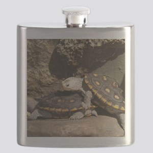 Diamond Back Terrapin Flask