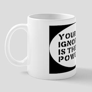 ignoranceoval Mug