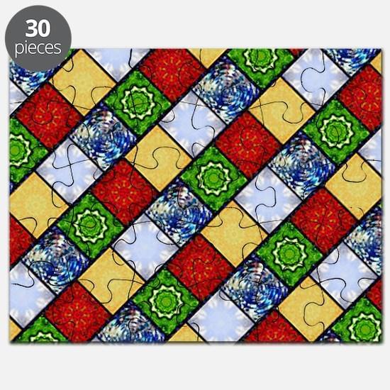 Five Elements Tiled Puzzle