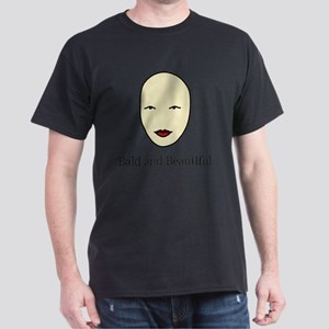 Bald is Beautiful Dark T-Shirt