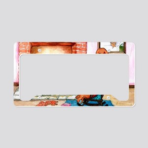 Hearthside Mother and Puppy License Plate Holder