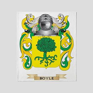 Boyle Coat of Arms Throw Blanket