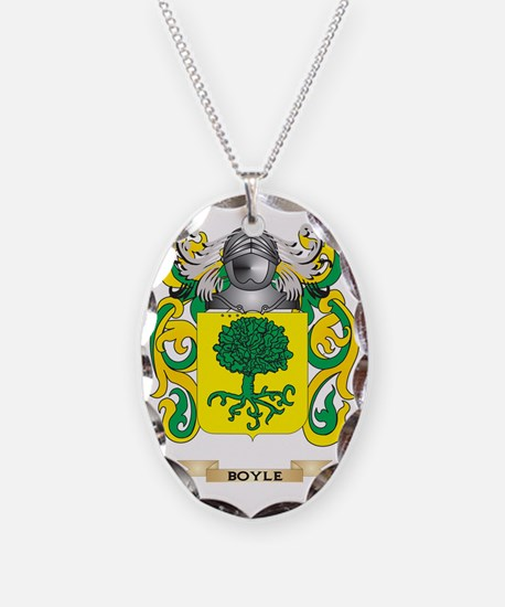Boyle Coat of Arms Necklace