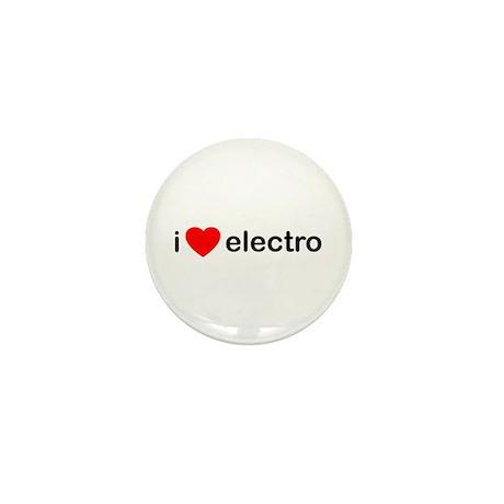 I Heart Electro Mini Button (100 pack)