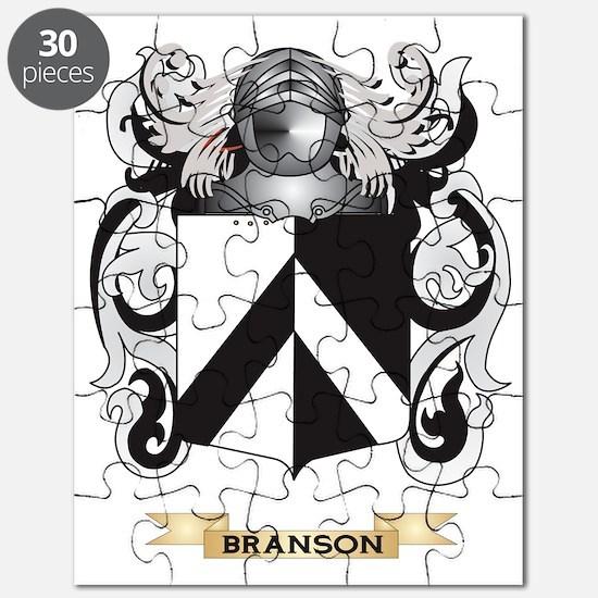 Branson Coat of Arms Puzzle