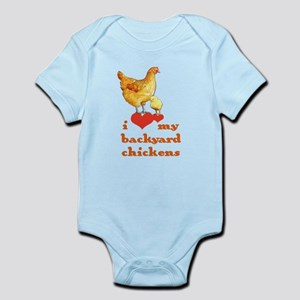 Backyard Chickens Body Suit