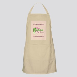 Perfection Here Apron