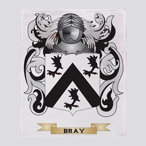 Bray Coat of Arms Throw Blanket