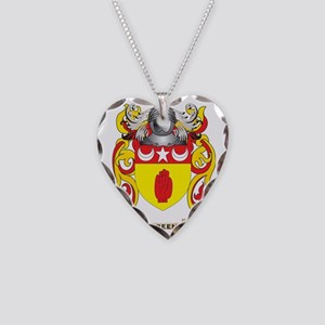 Breen Coat of Arms Necklace Heart Charm