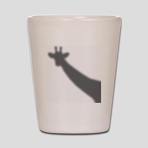 Giraffe Shadow Shot Glass