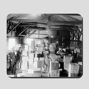 Bootleg Whiskey Warehouse Mousepad
