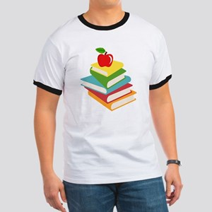 books and apple school design Ringer T
