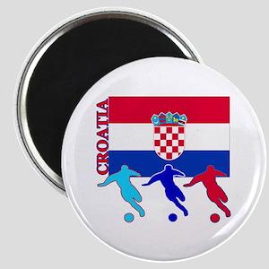 "Croatia Soccer 2.25"" Magnet (10 pack)"