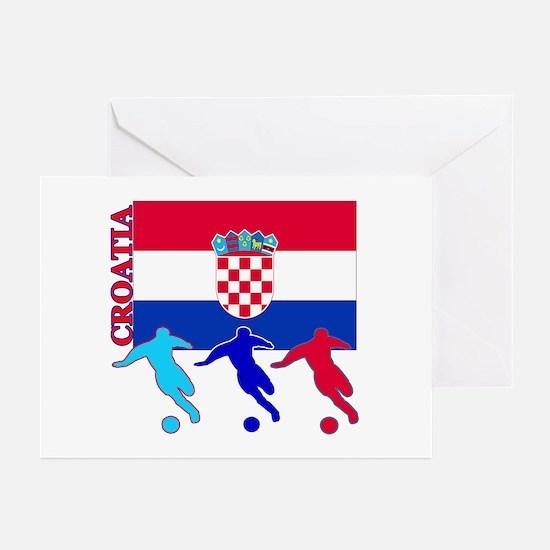 Croatia Soccer Greeting Cards (Pk of 10)