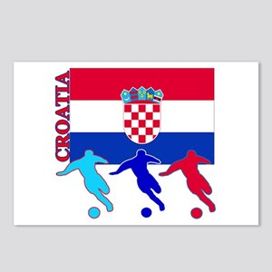 Croatia Soccer Postcards (Package of 8)
