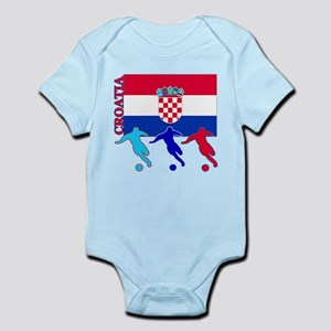 Croatia Soccer Infant Bodysuit