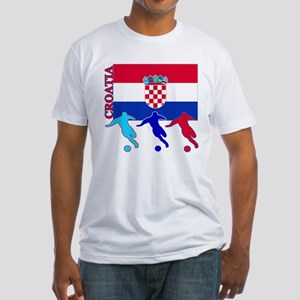 Croatia Soccer Fitted T-Shirt