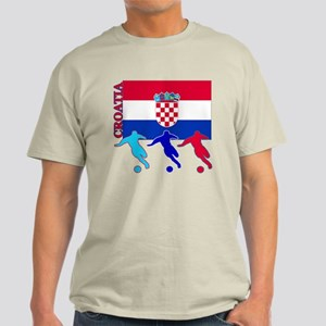 Croatia Soccer Light T-Shirt