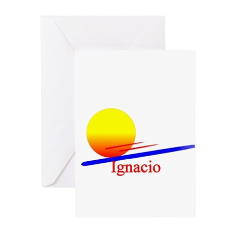 Ignacio Greeting Cards (Pk of 10)