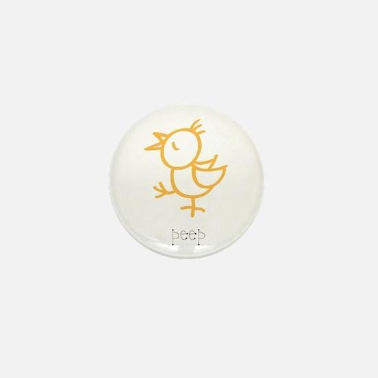 Peep, The Little Chick Mini Button