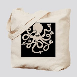 octopus-hands-TIL Tote Bag