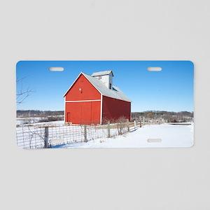 Illinois Barn Aluminum License Plate