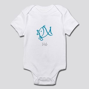 Blub, The Blue Fish Infant Bodysuit