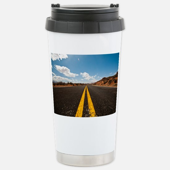 Theres nothing the road Stainless Steel Travel Mug
