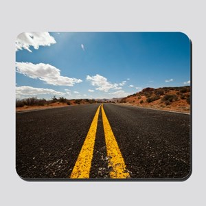 Theres nothing the road cannot heal Mousepad