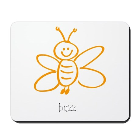 Buzz, The Bumble Bee Mousepad