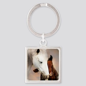 Tenderness Square Keychain