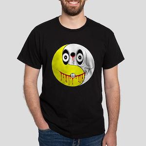 Yin Yang Smiley Face Dark T-Shirt