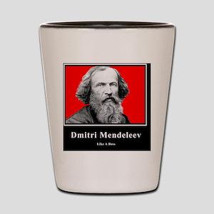 Dmitri Mendeleev Like A Boss Shot Glass