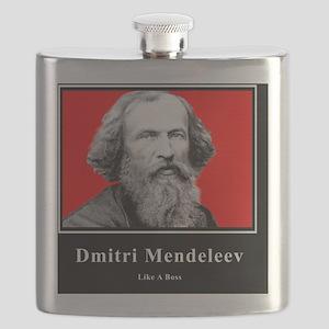 Dmitri Mendeleev Like A Boss Flask