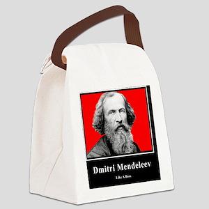 Dmitri Mendeleev Like A Boss Canvas Lunch Bag