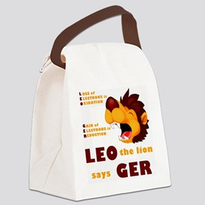 LEO The Lion Says GER Canvas Lunch Bag