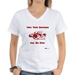 Cure For Insomnia - RNC Women's V-Neck T-Shirt