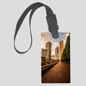 Boston Golden Hour Large Luggage Tag